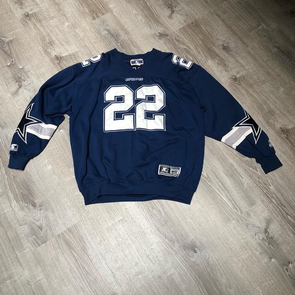 premium selection 58c5a d22f5 Emmitt Smith Dallas Cowboys Starter sweatshirt.